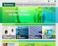 Bild Webseite Buckman Laboratories Köln