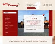 Bild Holz- und Heimwerkerzentrale Wiemann GmbH