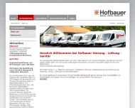 Bild Hofbauer Heizung, Sanitär, Lüftung OHG