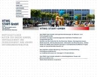 Bild Webseite HTWG Start Konstanz