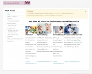 Bild Webseite HUS Immobilien Nürnberg