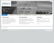 Bild Webseite iKEN Innovative Kunststoff Entwicklung Adelsheim