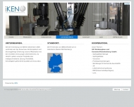 Website iKEN Innovative Kunststoff Entwicklung