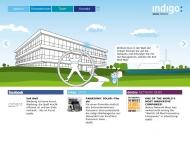 Bild Webseite indigo: Werbeagentur Düsseldorf