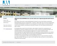 Bild Webseite Ingenieurgesellschaft Maurer München