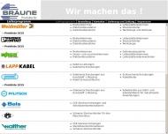 Bild Webseite Ingenieurbüro Peter Braune Rüsselsheim