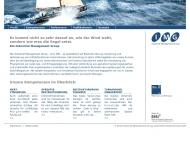 Bild Webseite Industrial Management Group Unternehmensberatung München