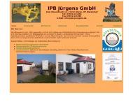 page IPB-J?rgens Tiefbau Grabenloser Rohrvortieb Durch?rterungen