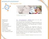 Bild Webseite Intensivpflegedienst Kompass München