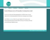 Bild Webseite IVB Immobilien Verwaltung Berkau Hamburg