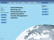 Bild Webseite IWAGO Instandhaltung Kerpen