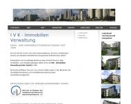 Bild Webseite IVK-Immobilien Verwaltung Kuhn Köln