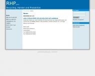 Bild Webseite RHP Estorf
