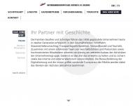 Bild Webseite RG Vermögens-Verwaltung Bremen