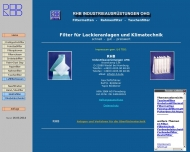 Website RHB Industrieausrüstungen