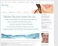 Bild Webseite Rheinauhafen-Implantat-Zentrum Köln