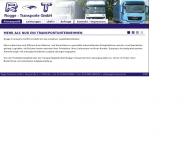 Rogge-Transporte LKW Transporte europaweit