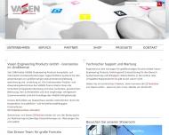 Bild Webseite Vasen Engineering Products Düsseldorf