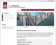 Bild Webseite Valvo Immobilien M. Vogler Hamburg