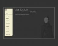 Bild Webseite Ventidue Mode Aachen