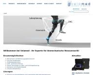 Bild Webseite Velamed Köln