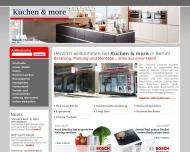 Bild Webseite Andrè Saupe  Küchen & More - Berlin