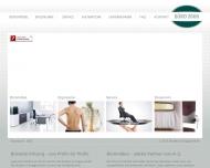 Bild Webseite Büro 2000 K. A. H. Hamburg