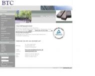Bild Webseite Bernhard Trade Düsseldorf