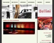 Bild Webseite Bellini Livemarketing Freiburg im Breisgau