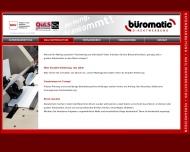Website büromatic-Direktwerbung Jost Damgaard
