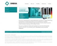 EMBEKA TECHNOLOGIES GmbH - Startseite