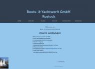 Bild Boots- & Yachtwerft GmbH Rostock