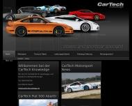 Bild Webseite Car-Tech Knowledge Unterföhring