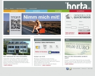 Bild Webseite Horta Immobilien Shop Center Konstanz
