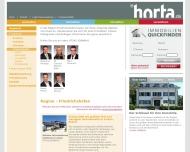 Website Horta Immobilien Shop Center