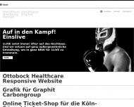 Bild Webseite HW Hochhaus Werbeagentur Köln