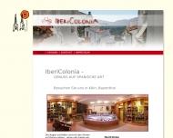 Bild Webseite IberiColonia Köln