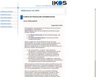 Willkommen bei der IKOS-Consult GmbH