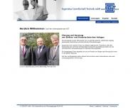 Bild Webseite IGT-Ingenieurgesellschaft Technik München