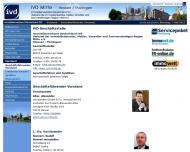 Bild Webseite Immobilienverband Deutschland IVD Verband der Immobilienberater, Makler Frankfurt