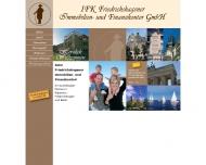 Bild Webseite IFK Berlin