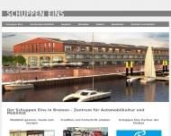 Bild Webseite HUW Verwaltungsgesellschaft Bremen