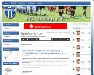 Bild Webseite Vfl Seeben Halle