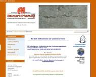 Website Andreas Humbs Bauwerterhaltung