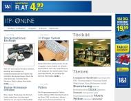 Bild Webseite ITP Software Systeme München