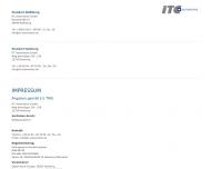Bild Webseite ITC Automotive Hamburg