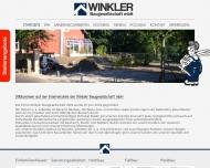 Bild Webseite Winkler Baugesellschaft Magdeburg