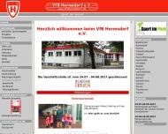 Bild Webseite Verein für Bewegungsspiele Hermsdorf Berlin