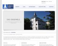 Bild Webseite Villa Seeblick Binz Grundstücksgesellschaft Hamburg