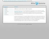 Bild Webseite Witte IT-Systeme e. Kfm. Magdeburg